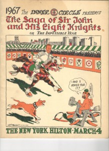 "1967 ""The Saga of Sir John and His Light Knights or The Impossible Year"""
