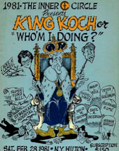 "1981""King Koch or Who'm I Doing?"""