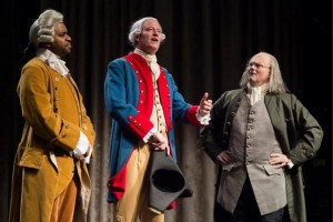 Mayor Bill tries to impress the founding fathers to pick New York as the nation's first capital.